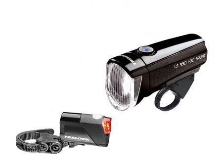 Trelock LS350 I-Go Sport + LS 710 Reego Set 15 Lux