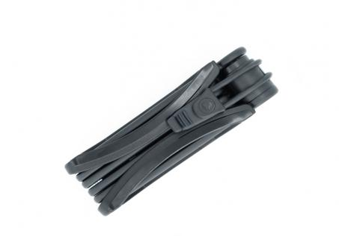 Trelock TF 100 Faltschloss 90 cm | schwarz