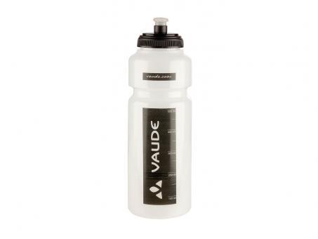 Vaude Sonic Bike Bottle 1 ltr. 1,0 Liter | transparent schwarz