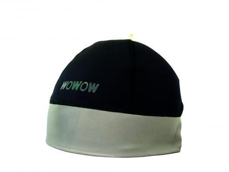 WOWOW Reflective Beanie Mütze unisize | schwarz