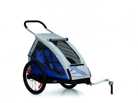 XLC Mono2 Fahrrad-Kinder-Anhänger blau