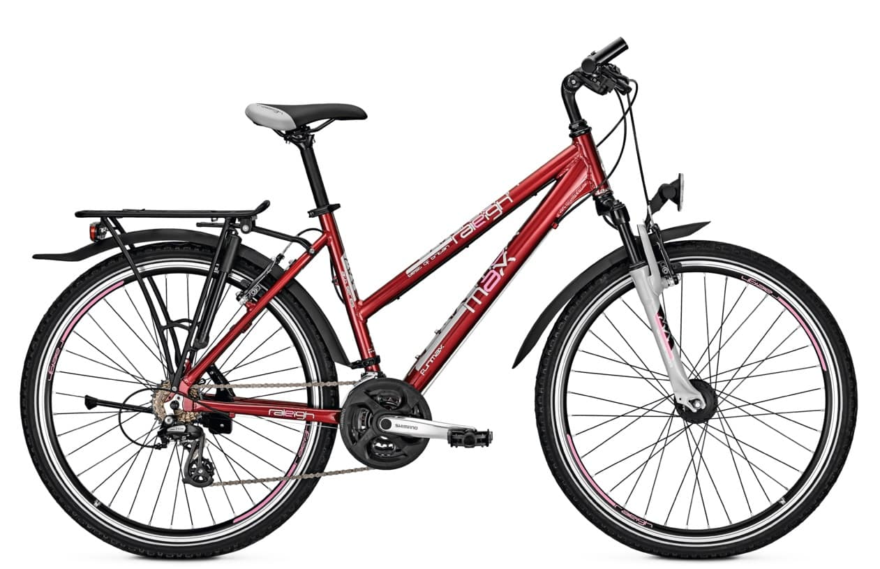 Raleigh Funmax Trapez 2018 | 45 cm | rot
