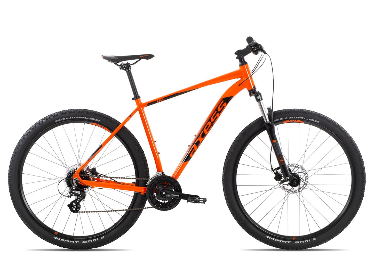 Axess Brash 2019 | 17 Zoll | orange black