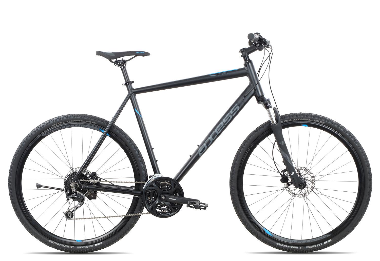 Axess Veris 2018   52 cm   black blue grey