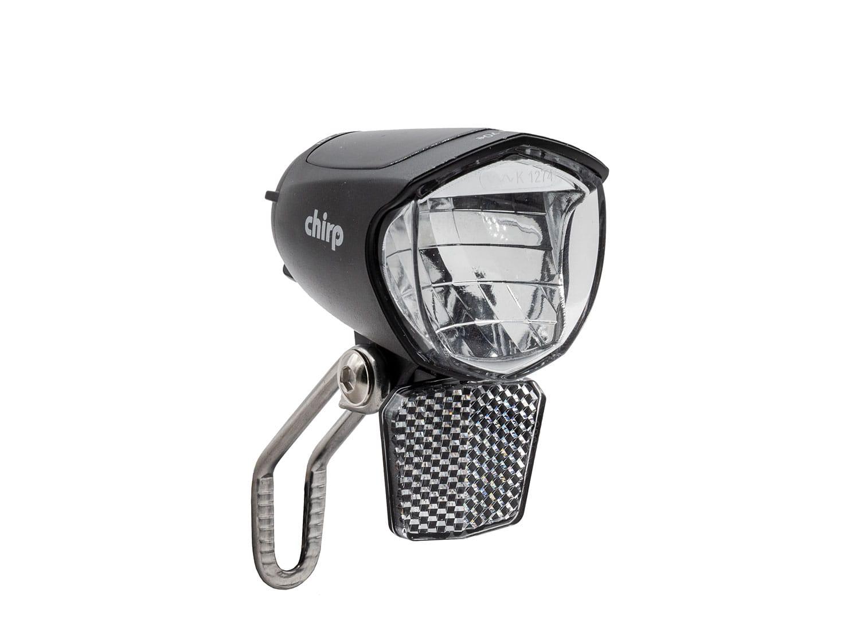 Zubehör > beleuchtung > scheinwerfer: Chirp  Beam Frontscheinwerfer 70 Lux