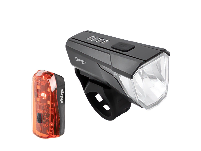 Zubehör > beleuchtung > licht-sets: Chirp  DiegoFlash Lichtset 70 Lux