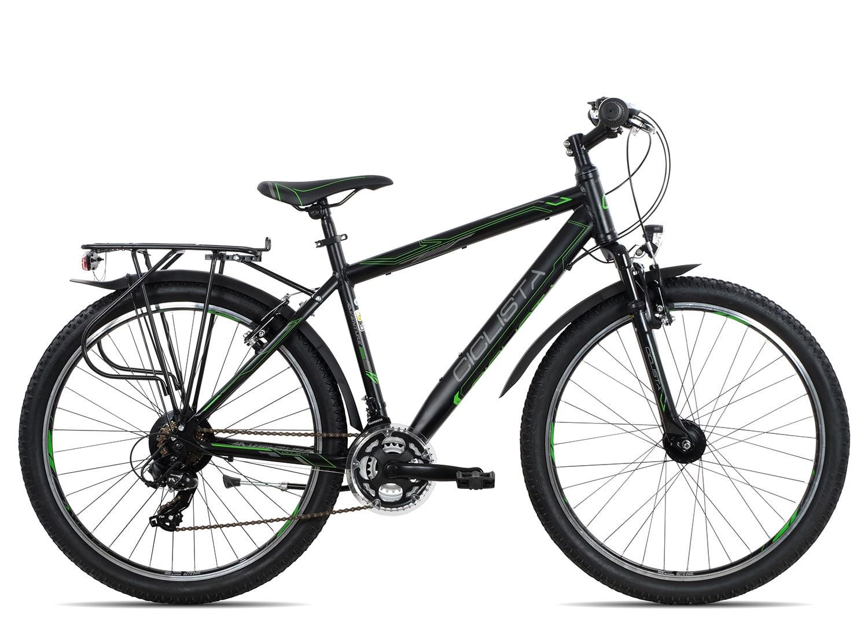 Ciclista Adventure 26 Herren 2018 | 48 cm | black green grey