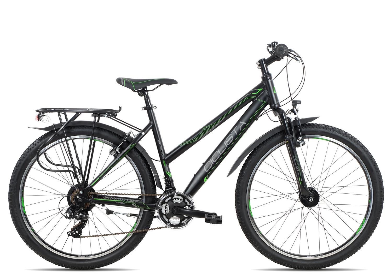 Ciclista Adventure 26 Trapez 2018 | 38 cm | black green grey
