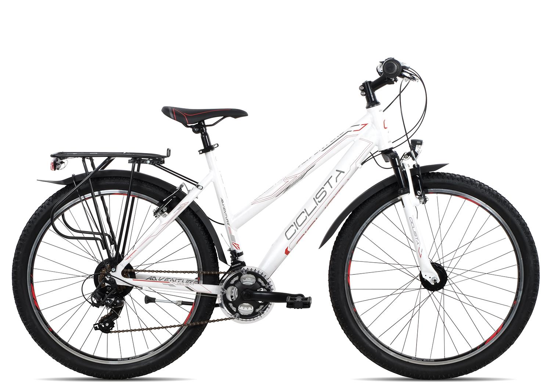 Ciclista Adventure 26 Trapez 2018 | 38 cm | white grey red
