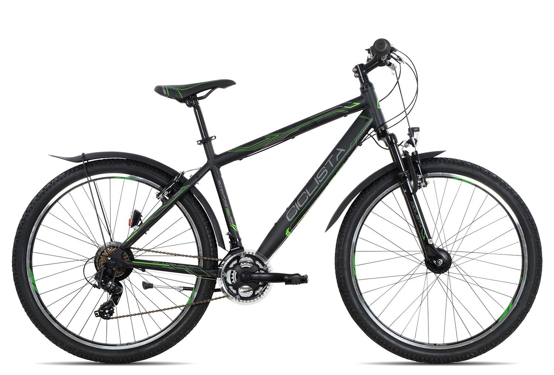 Ciclista Adventure 27.5 Herren 2018 | 43 cm | black green grey