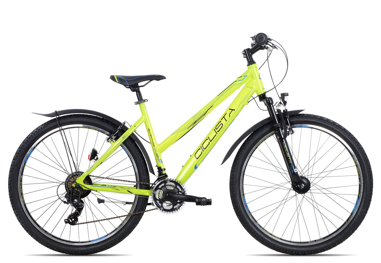 Ciclista Adventure 27.5 Trapez 2018 | 38 cm | lime black blue