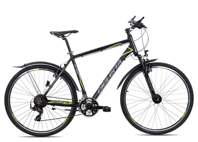 Ciclista All Road Herren 2019 | 55 cm | black blue lime