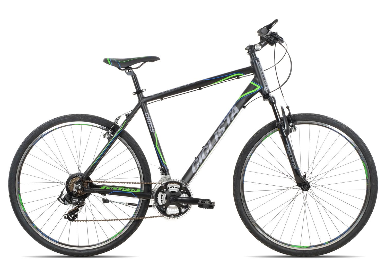 Ciclista Cross Herren 2019 | 55 cm | black blue green