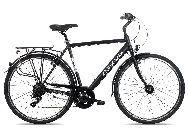 Ciclista Ponte Vecchio Herren 2018 | 48 cm | black silver red