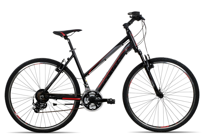 Ciclista Sportiva Cross Trapez 2017 | 50 cm | schwarz rot