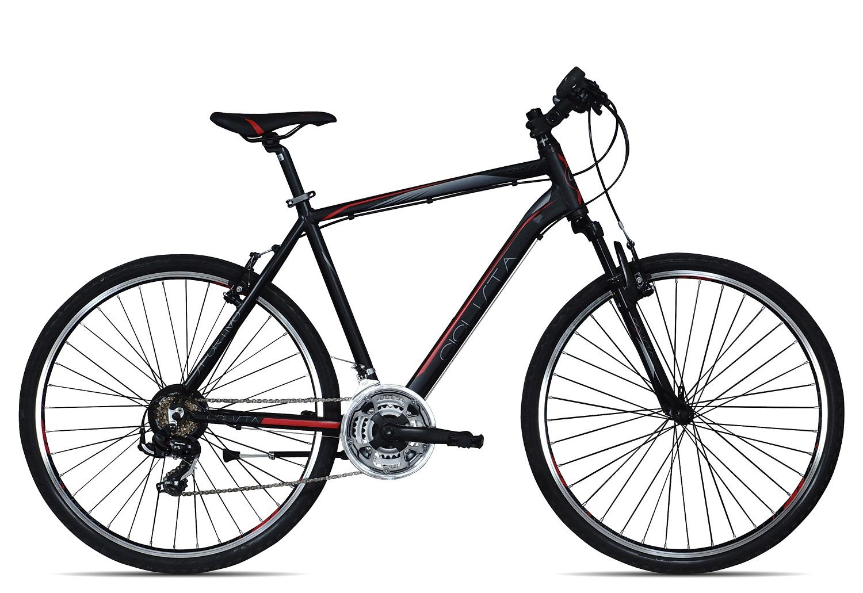 Ciclista Sportivo Cross Herren 2017   55 cm   schwarz rot