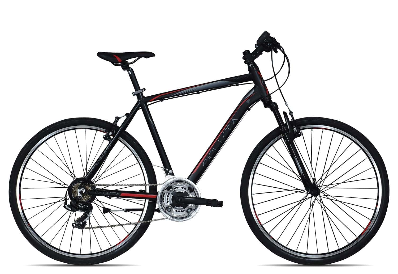 Ciclista Sportivo Cross Herren 2017 | 60 cm | schwarz rot