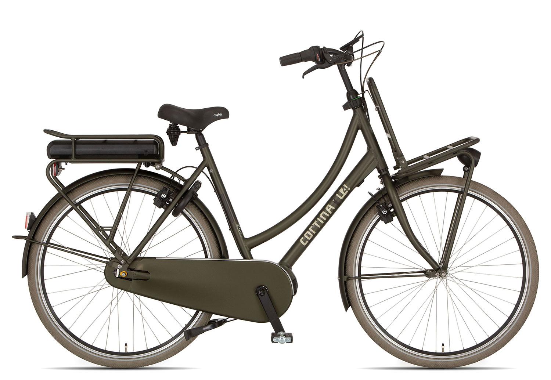 E-Bikes: Cortina  E-U4 Textures Trapez