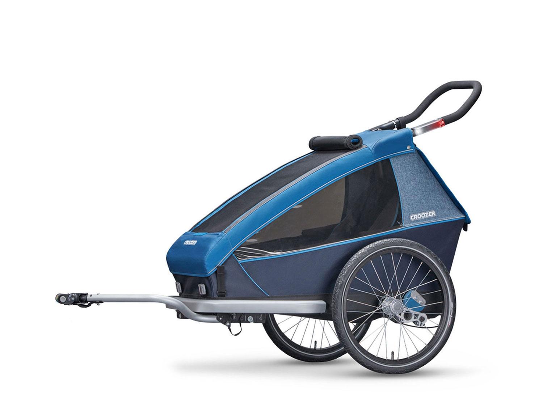 croozer kid plus for 1 1 kind ocean blue jetzt. Black Bedroom Furniture Sets. Home Design Ideas