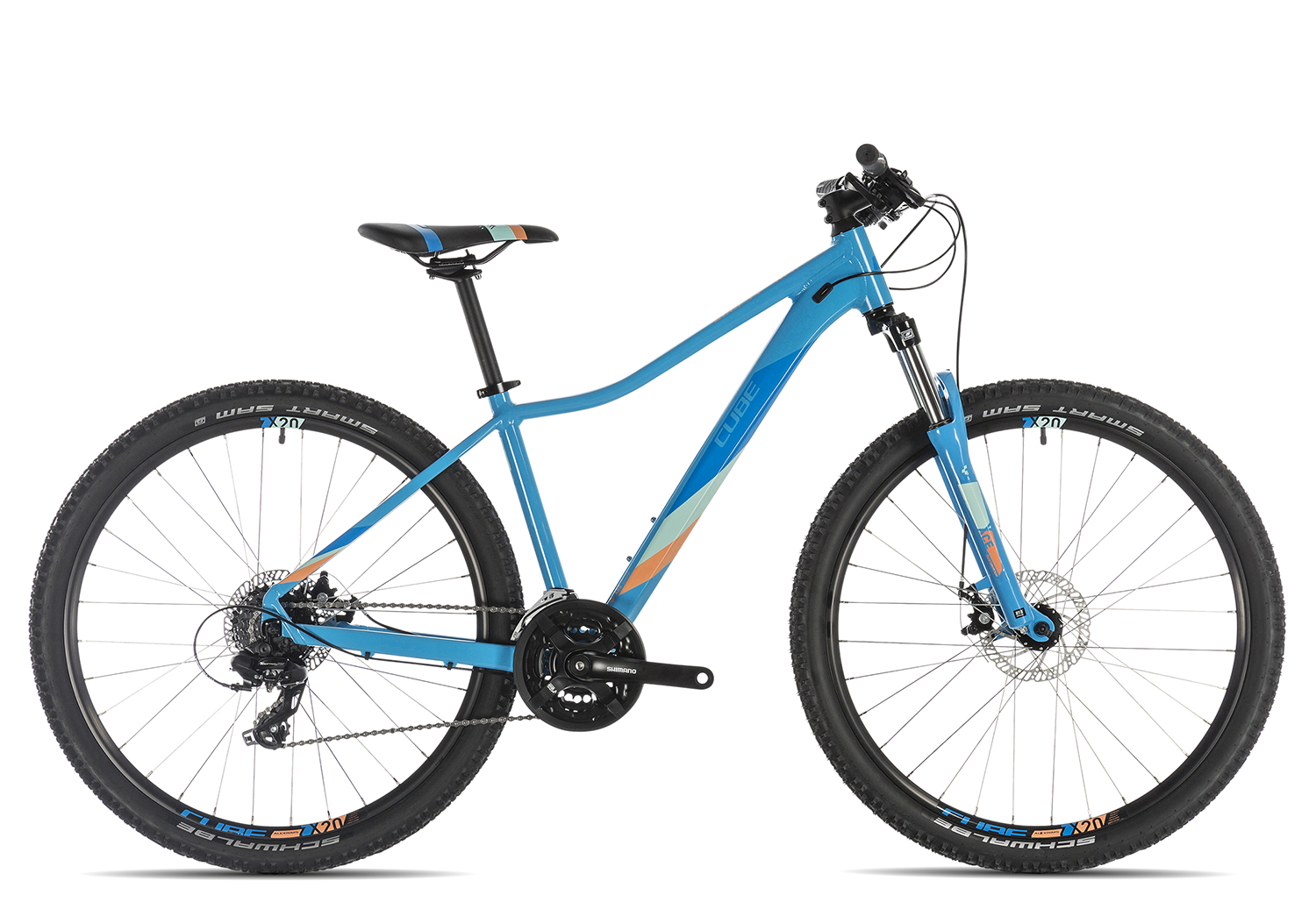 Cube Access WS 2019 13.5 Zoll | reefblue'n'apricot | 27.5 Zoll