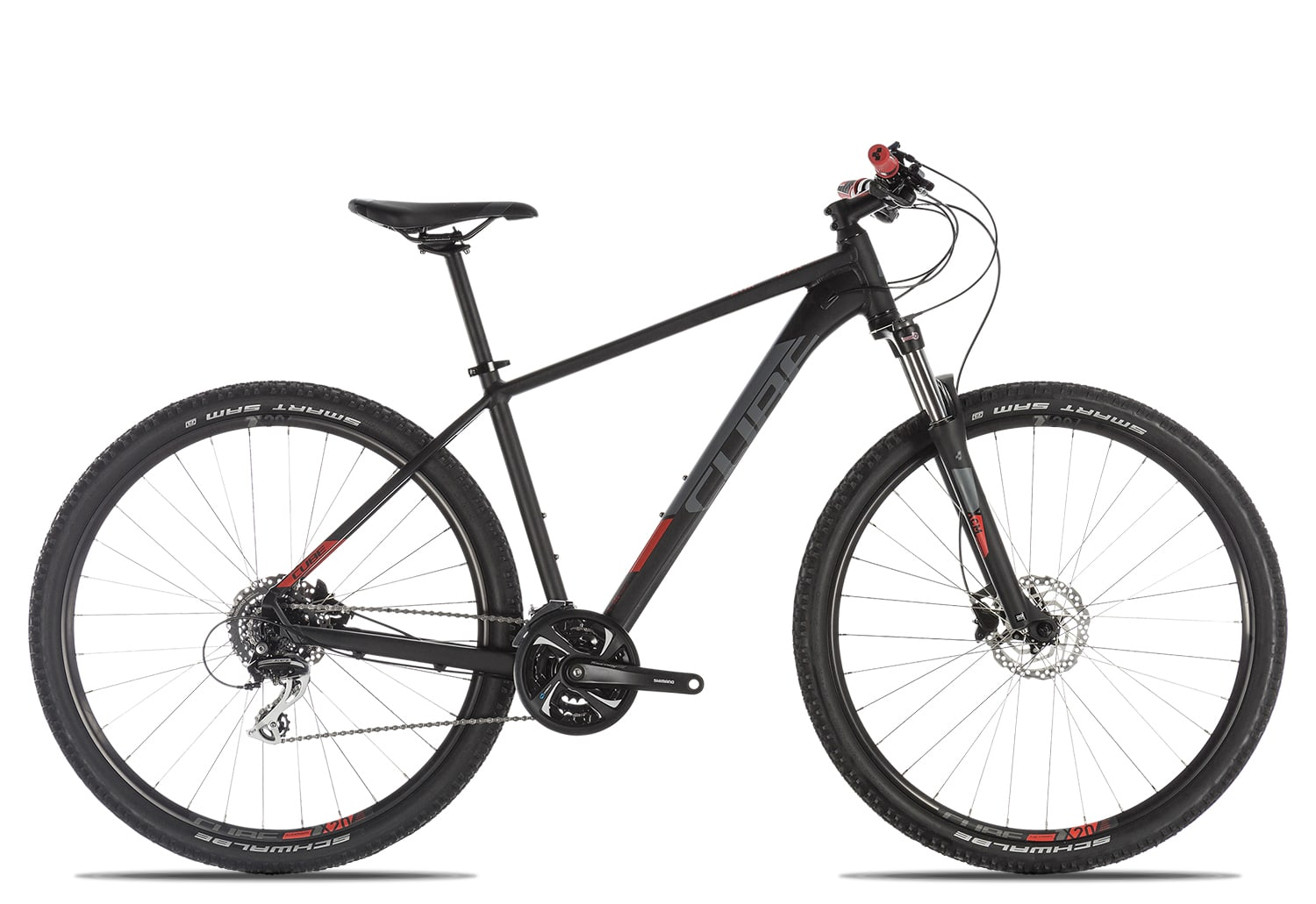 Cube Aim Race 2019 17 Zoll | black'n'red | 29 Zoll