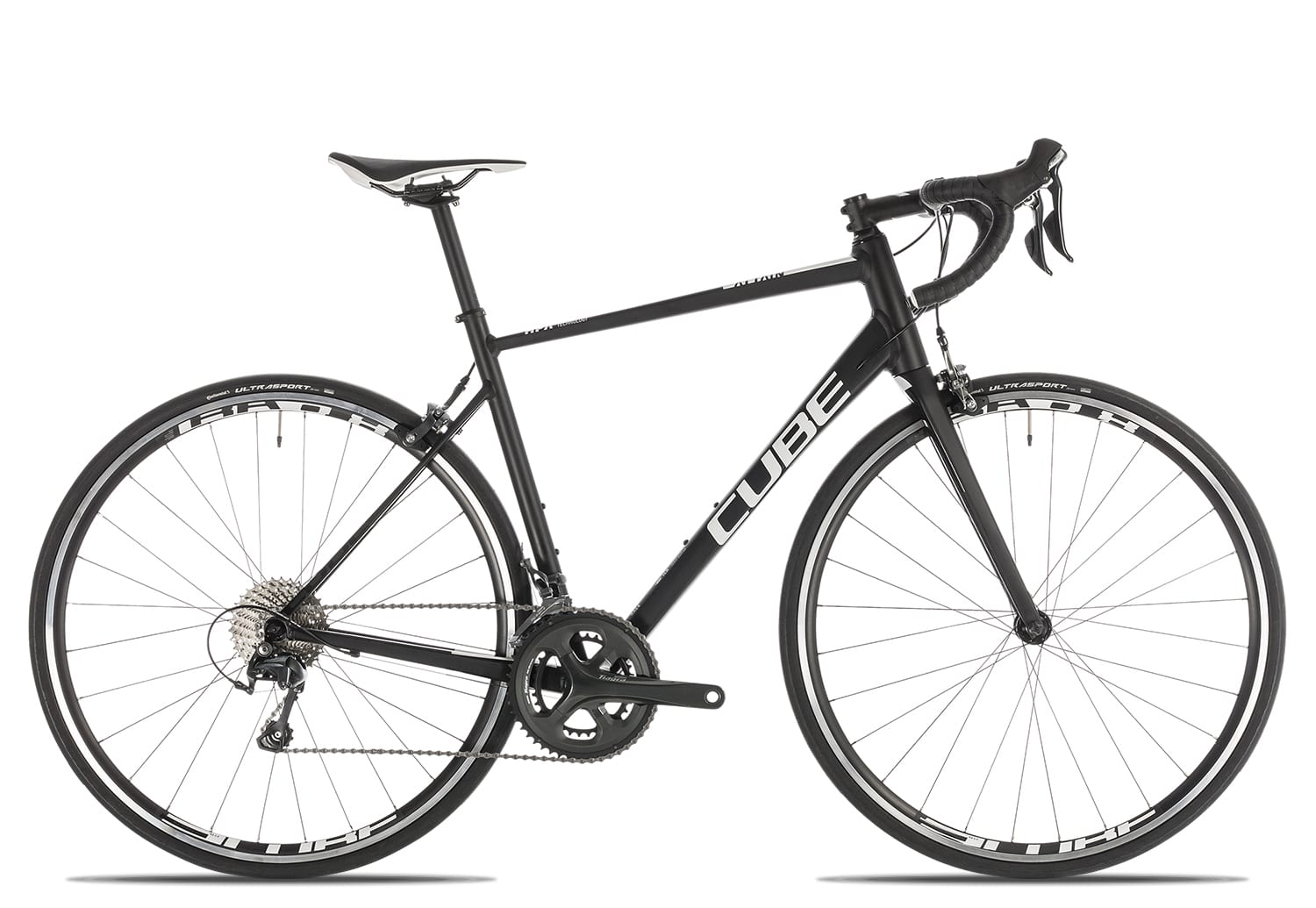 Cube Attain Race 2019 | 53 cm | black'n'white