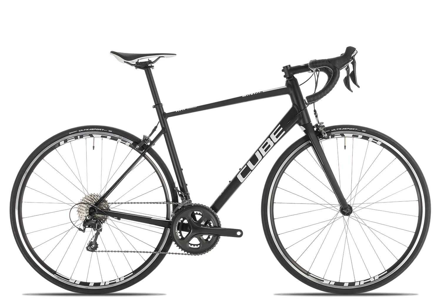 Cube Attain Race 2019 | 58 cm | black'n'white