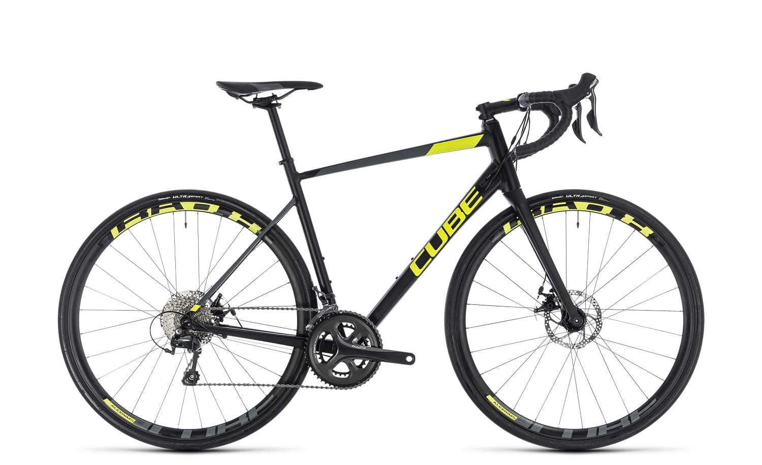 Cube Attain Race Disc 2018 | 50 cm | black'n'flashyellow
