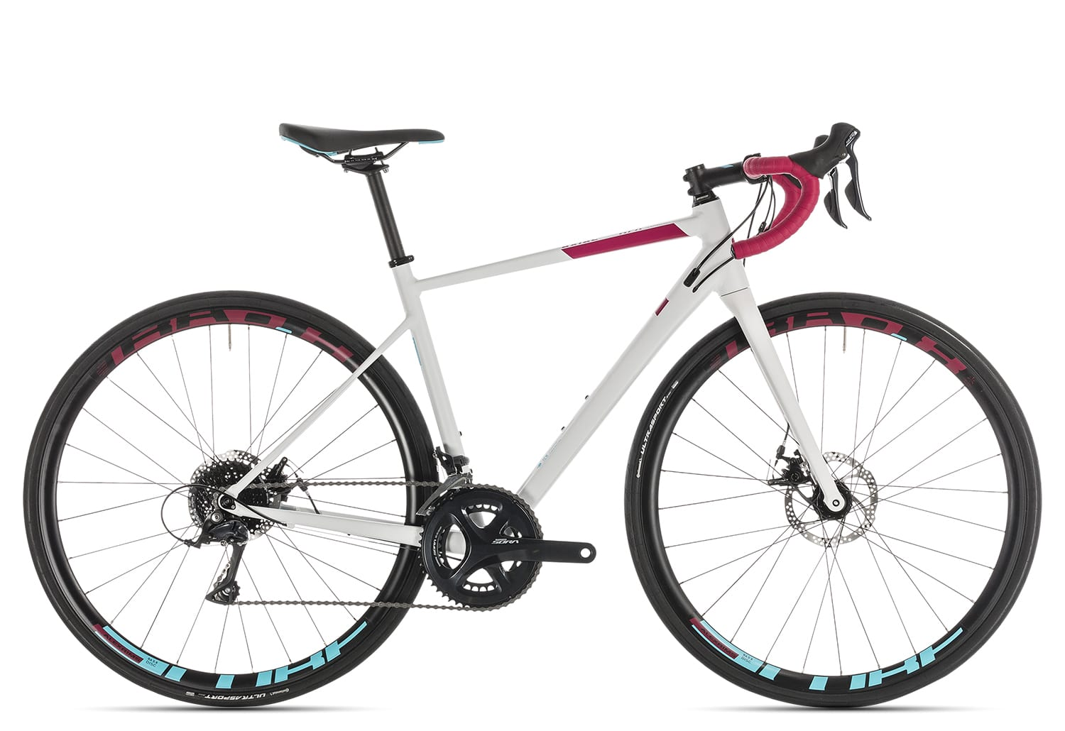 Cube Axial WS Pro Disc 2019   53 cm   white'n'berry
