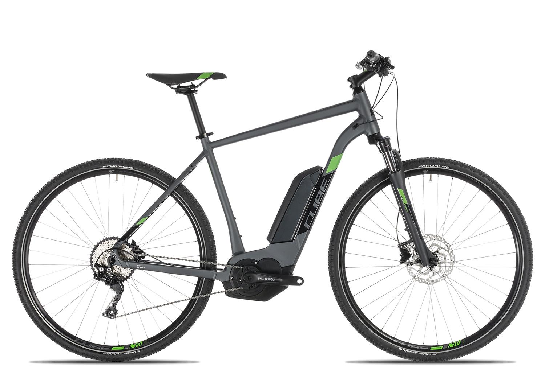 Cube Cross Hybrid Pro 500 Herren 2019 | 58 cm | iridium'n'green auf Rechnung bestellen