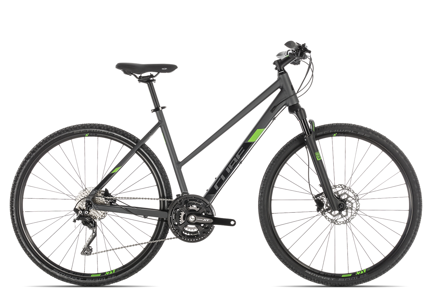 Cube Cross Pro Trapez 2019 | 50 cm | iridium'n'green