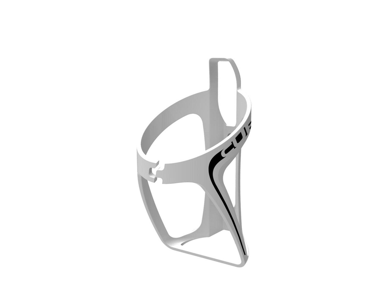 Cube Flaschenhalter HPP weiß/schwarz   matt