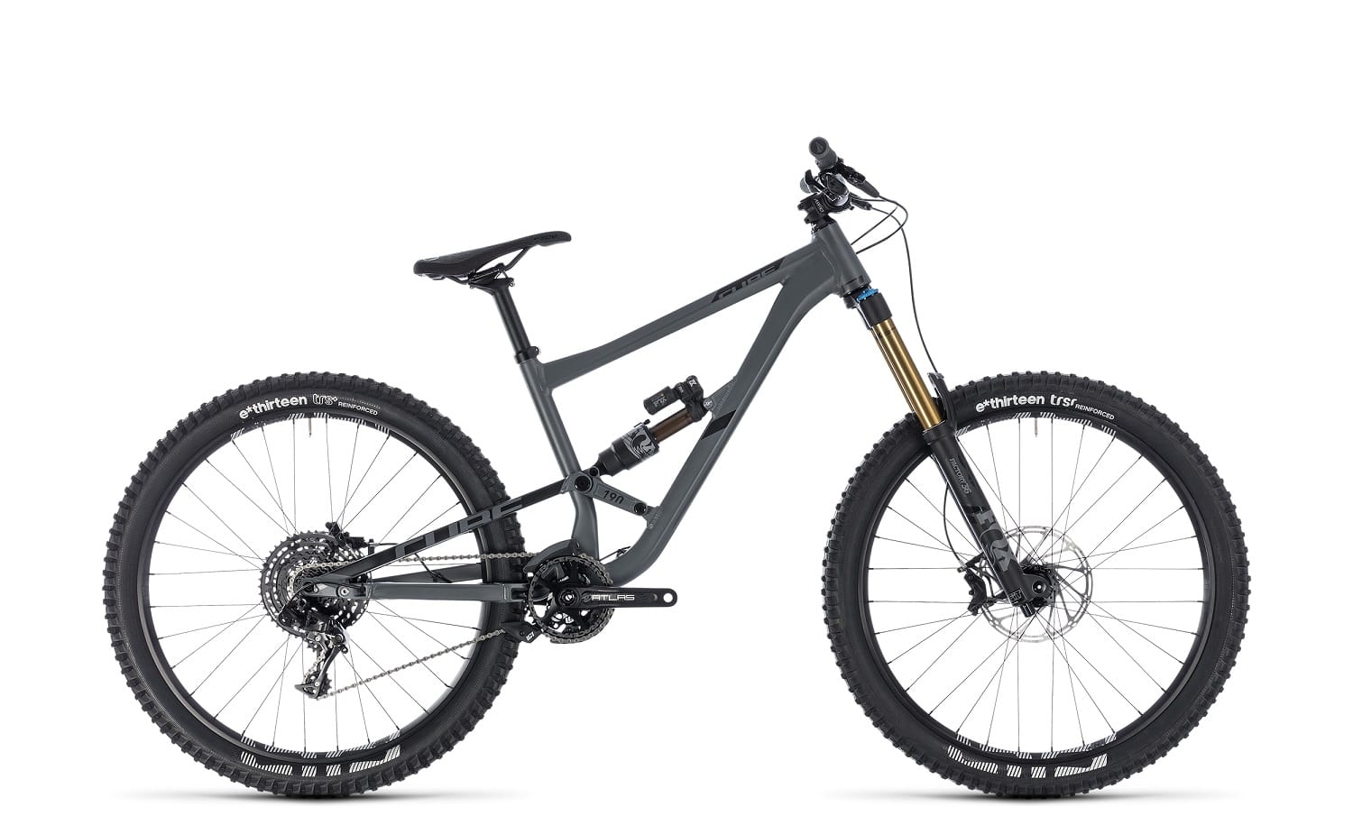 Cube Hanzz 190 TM 2018 | 18 Zoll | grey'n'black