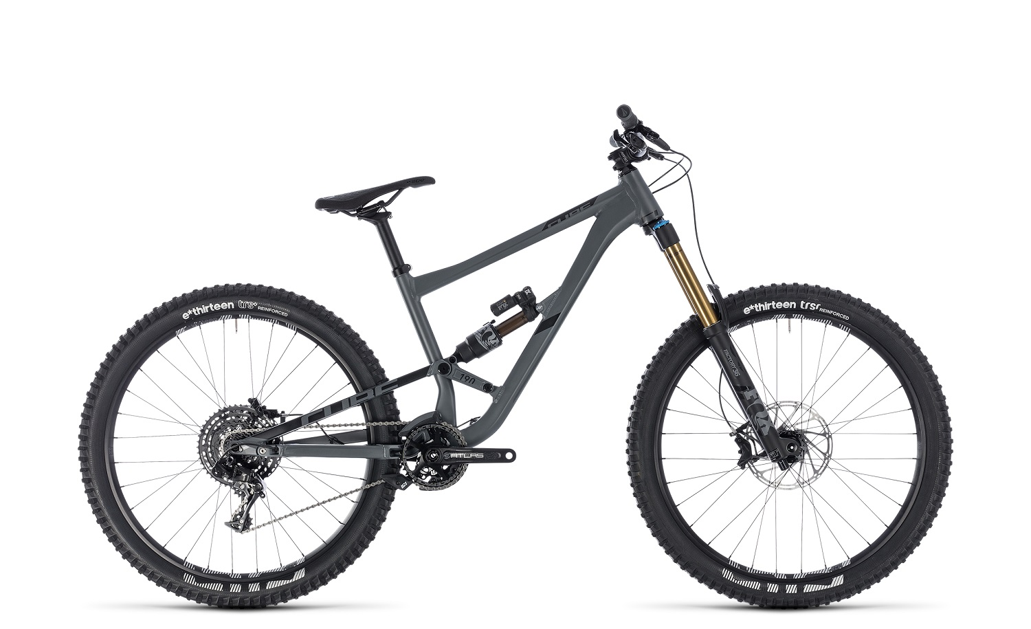 Cube Hanzz 190 TM 2018 | 20 Zoll | grey'n'black