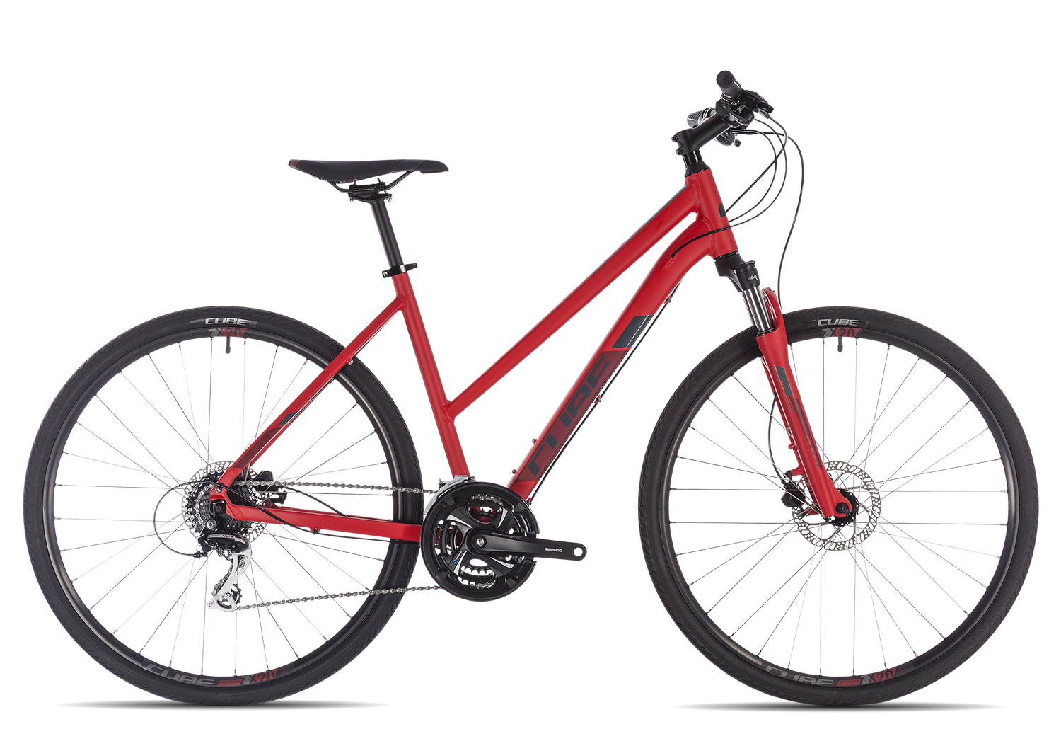 Cube Nature Trapez 2019 | 46 cm | red'n'grey