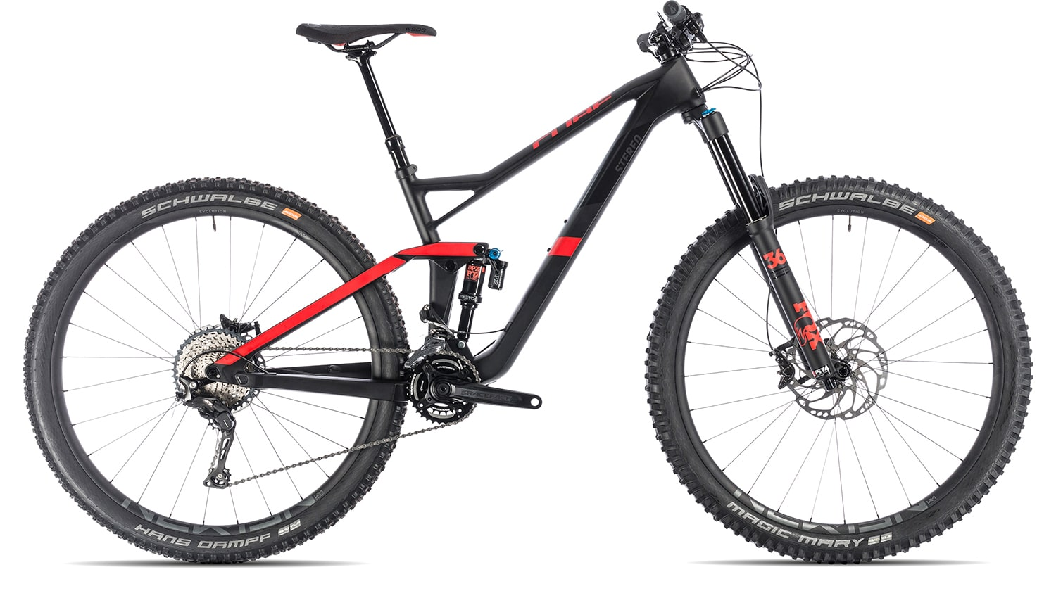 Cube Stereo 150 C 62 Race 29 2019 | 20 Zoll | carbon'n'red