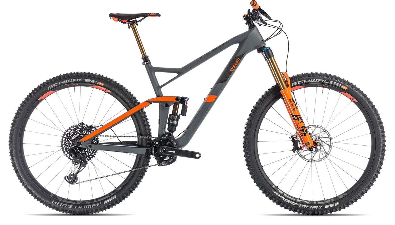 Cube Stereo 150 C 68 TM 29 2019   18 Zoll   grey'n'orange auf Rechnung bestellen