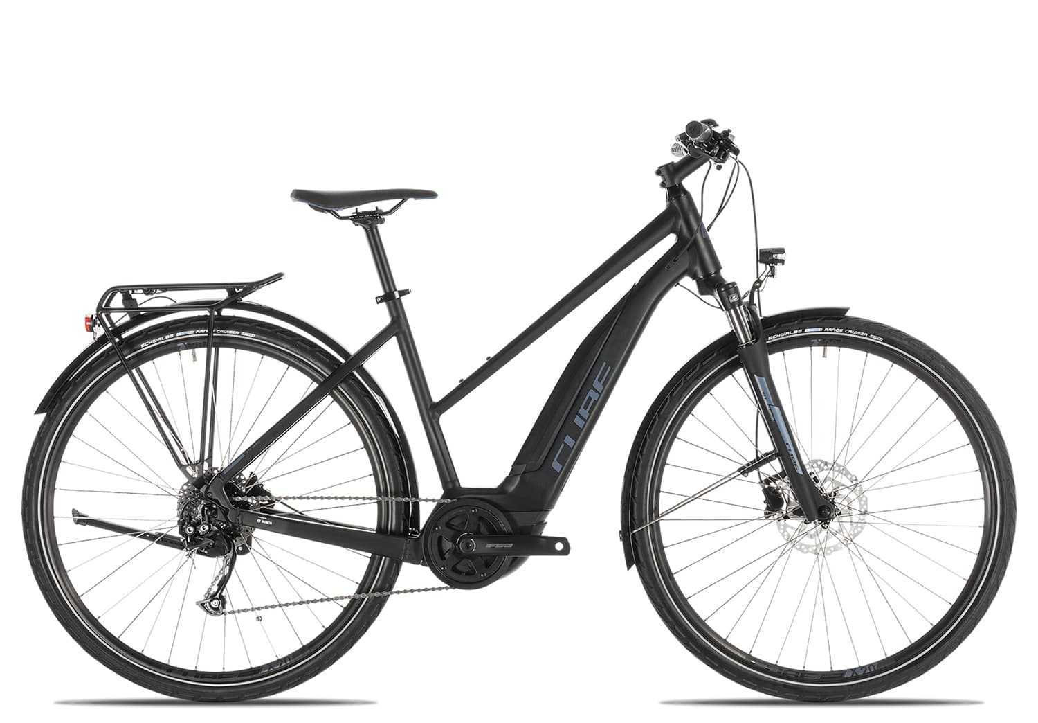 Cube Touring Hybrid ONE 500 Trapez 2019 | 54 cm | black'n'blue