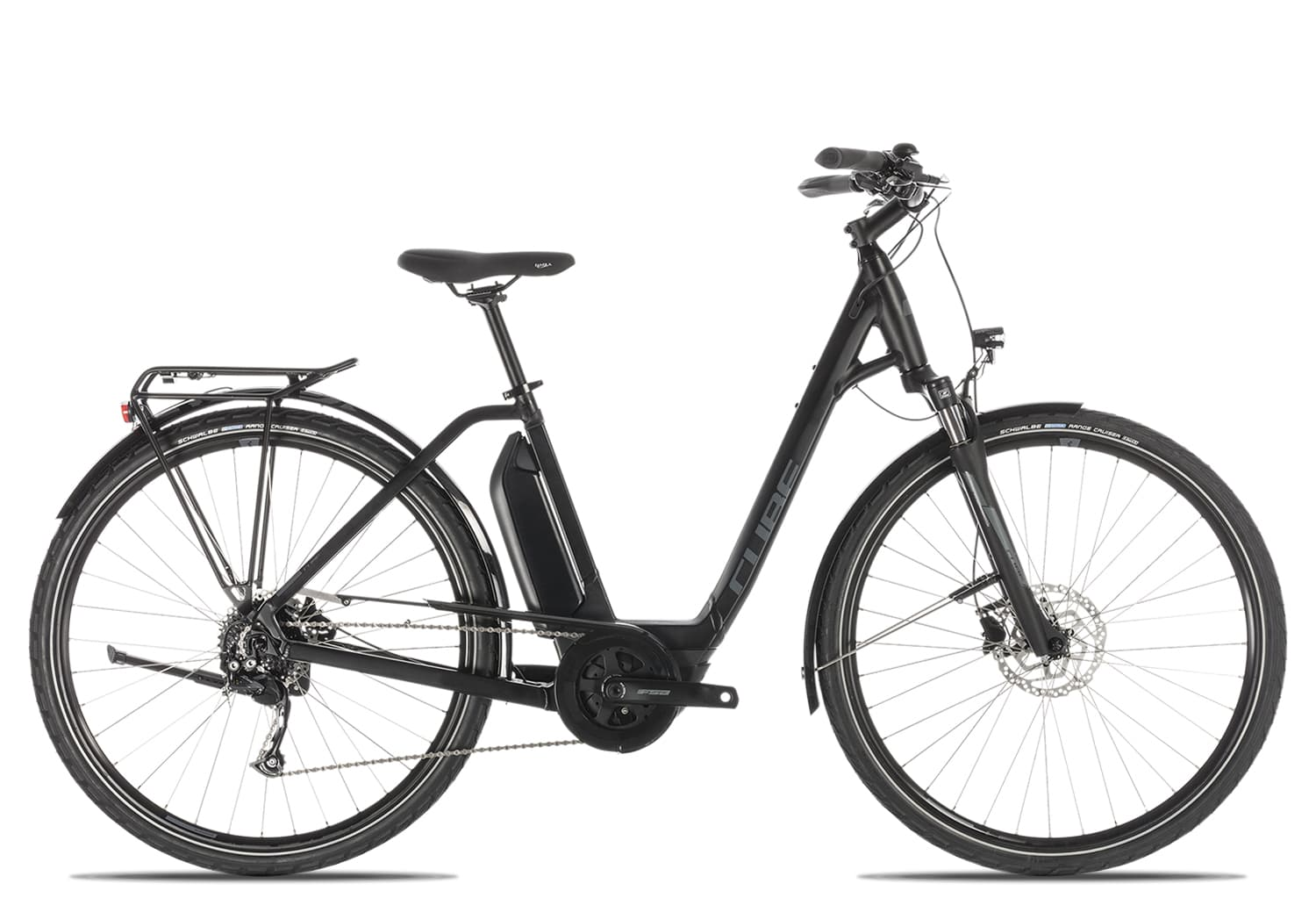 Cube Town Sport Hybrid ONE 400 Wave 2019 | 42 cm | black'n'grey