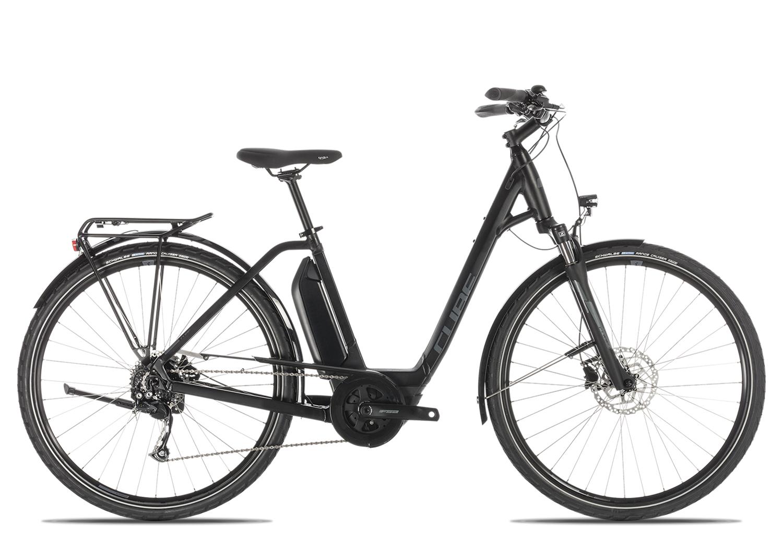 Cube Town Sport Hybrid ONE 400 Wave 2019 | 58 cm | black'n'grey