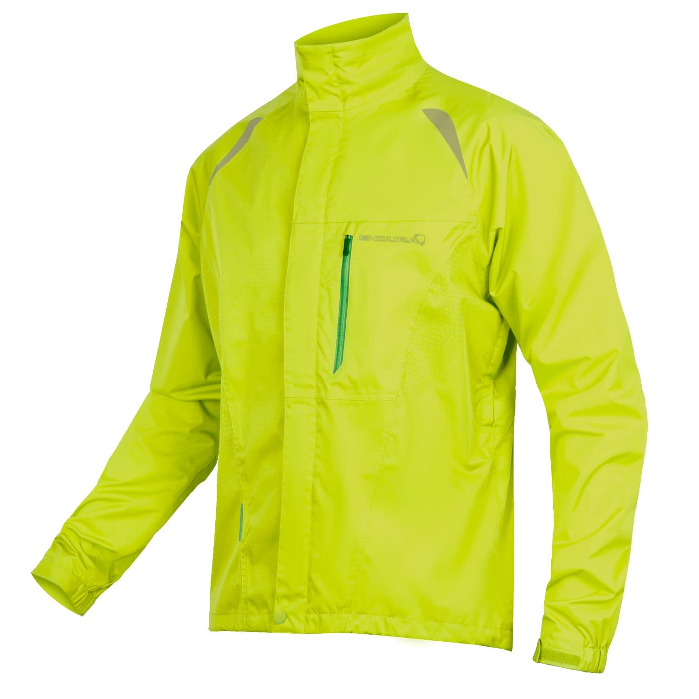 Endura Gridlock Jacke II Men   L   neon gelb