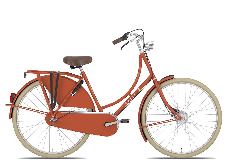 Hollandrad Gazelle Classic 28 Zoll 57cm 3 Gang Damen – rot