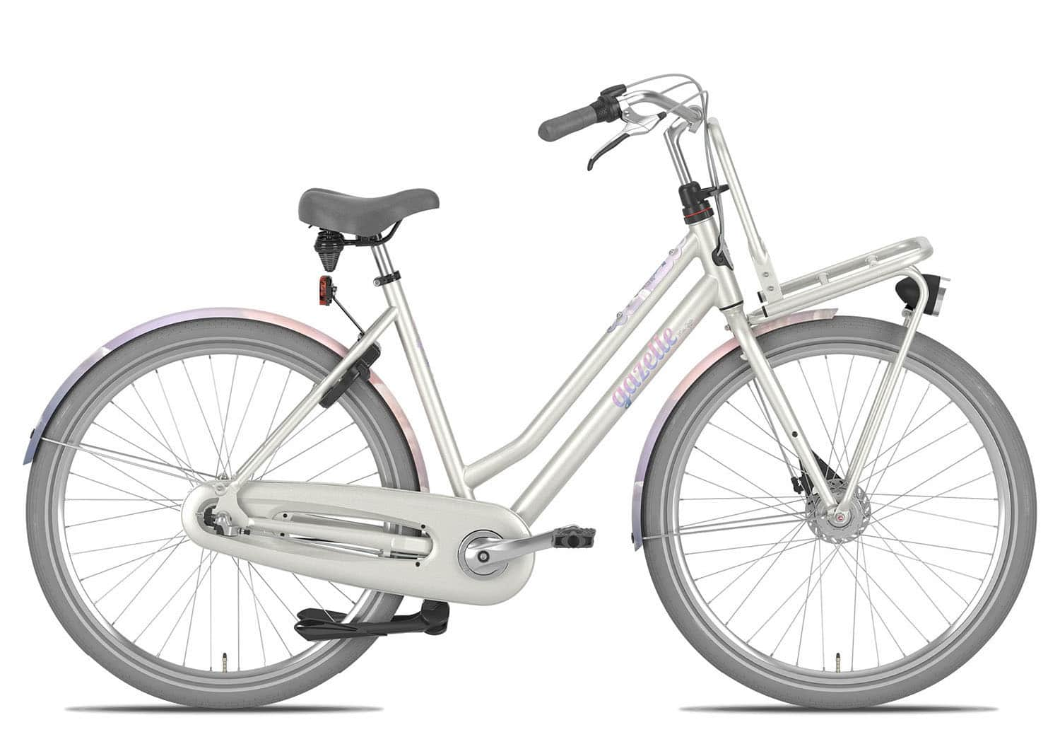 Hollandrad Gazelle Miss Grace 28 Zoll 59cm 3 Gang Damen - elfenbein