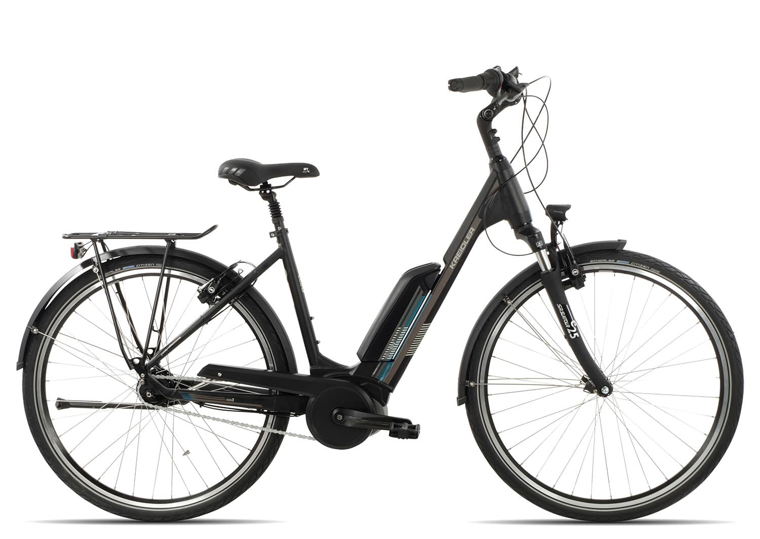 Kreidler Vitality Eco 3 Edition RT Wave 2018 | 45 cm | schwarz matt