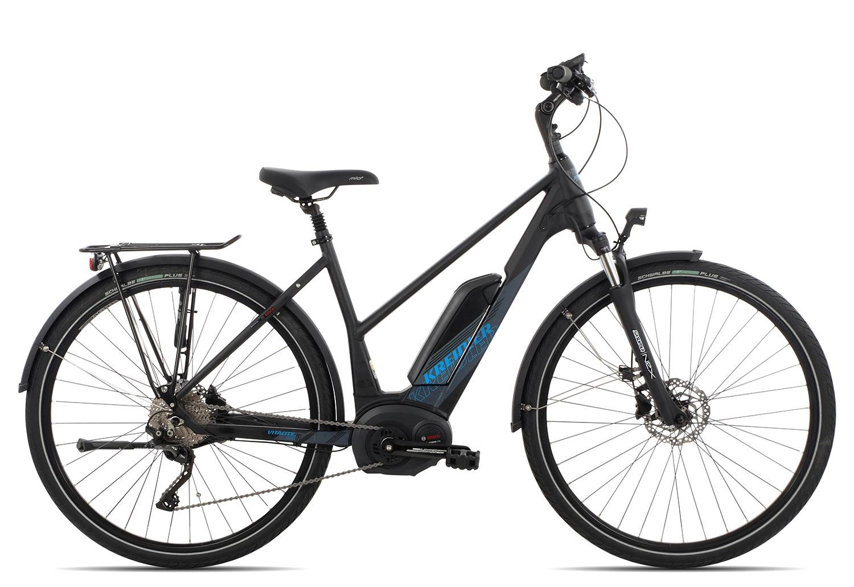 Kreidler Vitality Eco 6 Edition XT Trapez 2018   45 cm   schwarz matt auf Rechnung bestellen