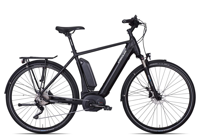 Kreidler Vitality Eco 8 EXT Herren 2019   55 cm   schwarz matt auf Rechnung bestellen