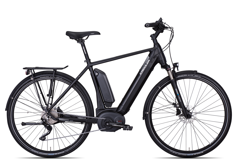Kreidler Vitality Eco 8 EXT Herren 2019   60 cm   schwarz matt auf Rechnung bestellen