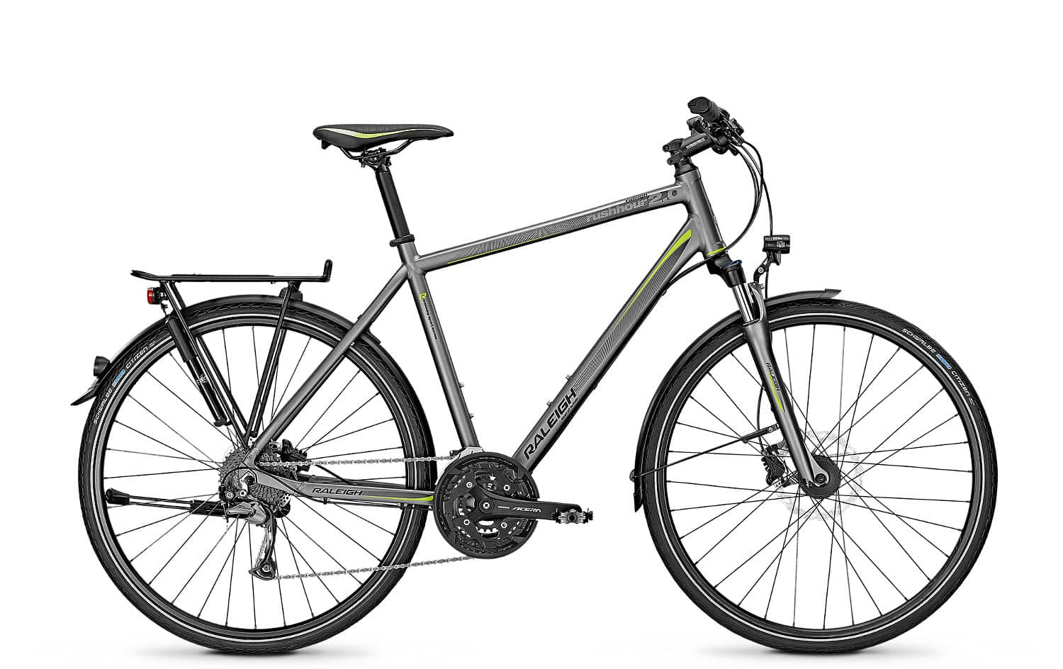 raleigh rushhour 2 0 disc trapez 2016 45 cm silver