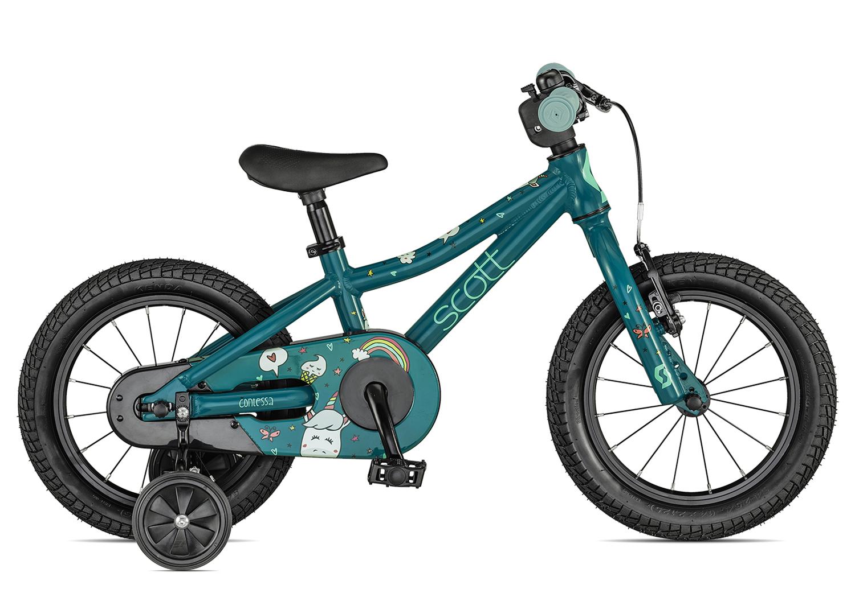 Rad Scott Contessa 14 2021 für Kinder bei Lucky Bike