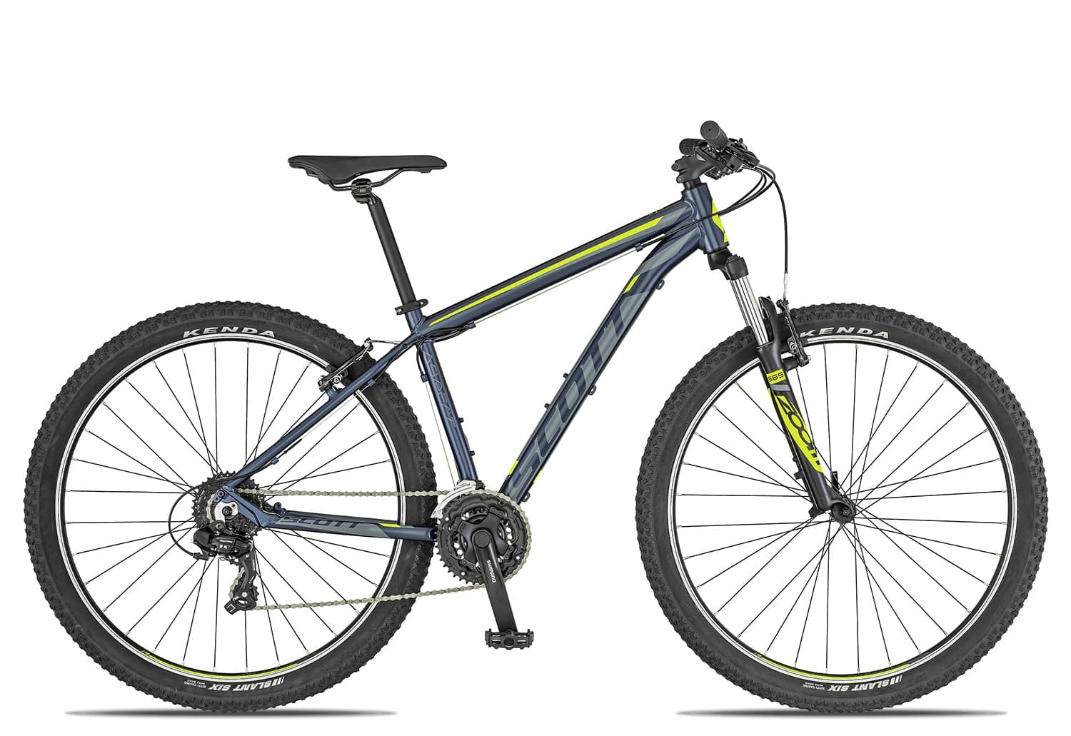 Scott Aspect 980 2019 | 58 cm | dark blue grey yellow auf Rechnung bestellen